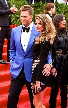 gisele bundchen and tom brady. thought i would post this considering the game that happens today yall