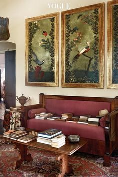La villa du film « Call Me By Your Name Living Area, Living Room, Interior And Exterior, Interior Design, Living In Italy, Decorative Panels, Vintage Modern, Decoration, My Dream Home