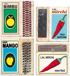 Food, Vintage Indian Matchbook Labels | Brain Pickings