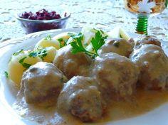 Konigsberger Klopse German Meatballs In Creamy Caper Sauce) Recipe - Food.com