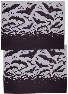 Bats Pillowcase Set