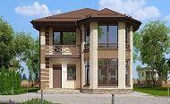 Проект дома C-147 - Проекты домов и коттеджей в Москве