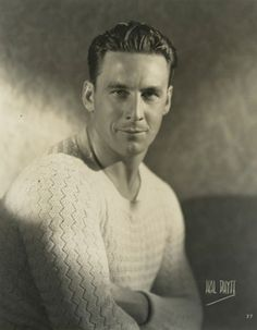 Silent film star George O'Brien, 1927. Looks like a young slightly thinner Mickey Rourke.