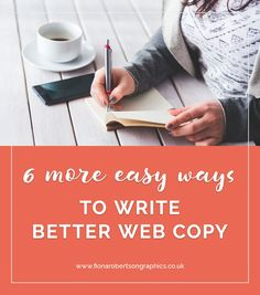Last week I shared 6 of my favourite ways to write better web copy and today I have more easy ways to improve your content. Plus, download all 12 tips in one handy bonus PDF.