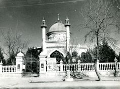 This view of the Baha'i House of Worship is after it was confiscated by the Soviets in 1929 and used as an art museum.