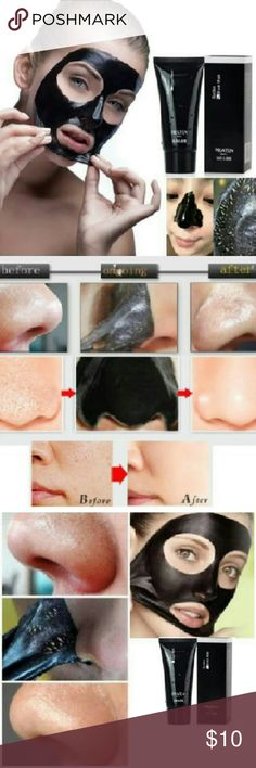 Blackhead Whitehead Remove Acne Nose Face Mud Mask Features: Removes blackheads Get rid of acne Eliminate oily  Specification :60 g/branch Applicable people : -Facial skin aging, fine lines and blemishes -Oily skin strawberry nose -Nose large pores blackheads -Daily sit the computer in front of computer radiation  Usage :Dry the cleansed area and apply the masque on desired area(avoid eyebrow,eyes,and lips).peel it off after 20-30 minutes.  Package including : 1 pc Blackhead Remover Mud…