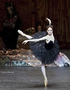 Uliana Lopatkina as Odile in Swan Lake
