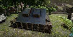 Ark Survival Evolved Bases, Game Ideas, Buildings, Nerd, Outdoor Decor, Play Ideas, Otaku, Geek