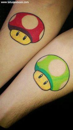 Tatuajes de videojuegos famosos