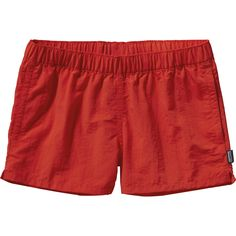 The water-loving Barely Baggies Shorts don't care if it's Sundown Falls or Surfer's Point, as long as they're submerged. These shorts are made of our classic Baggies fabric: Supplex® nylon with a DWR Board Shorts Women, Patagonia Shorts, Patagonia Baggies, Outdoor Apparel, Outdoor Clothing, Columbia Sportswear, Outdoor Woman, Outdoor Outfit, Active Wear For Women