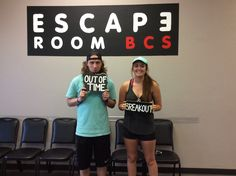These two attempted our Breakout room!