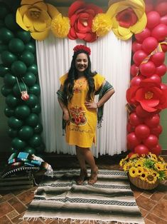 Mexican themed party, mexican embroidered dress, photo booth 5 de mayo in 2 Birthday Party Drinks, Mexican Birthday Parties, Mexican Fiesta Party, Fiesta Theme Party, Party Themes, Party Ideas, Mexican Theme Baby Shower, Mexican Bridal Showers, Fiesta Shower
