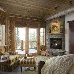#MasterSuiteMonday  Pine Haven Bedroom  www.tetonheritagebuilders.com