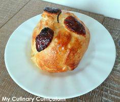 My Culinary Curriculum: Pomme feuilletée au four et à la cannelle (Puff ba...