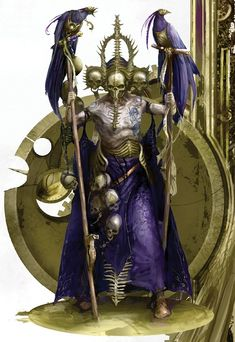 I absolutely love the Core Book so far, but when are we getting a Necromancer model that looks like this? This artwork is amazing! Character Concept, Character Art, Concept Art, Character Design, Warhammer Art, Warhammer Fantasy, High Fantasy, Fantasy Rpg, Dragon Movies