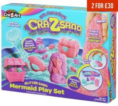 Buy Cra-Z-Sand Mermaid Playset at Argos.co.uk, visit Argos.co.uk to shop online for Toy craft kits, Creative and science toys, Toys
