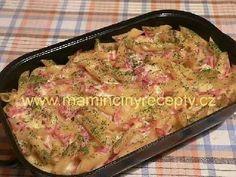 Těstoviny zapečené se sýrem a šunkou Grains, Chicken, Meat, Food, Lasagna, Essen, Meals, Seeds, Yemek