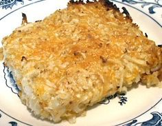 """DINER """"POTATOES"""" - like hash brown patties with cheese, recipe is 6 carbs, is 4 carbs Atkins Recipes, Low Carb Recipes, Cooking Recipes, Cooking Ideas, Yummy Recipes, Recipies, Low Carb Menus, Low Carb Keto, Induction Recipes"""
