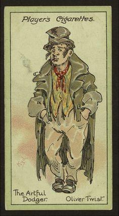 The Artful Dodger, Oliver Twist.
