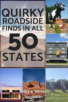 Add these quicky roadside attractions to your list! Add these quicky roadside attractions to your list! Us Road Trip, Family Road Trips, Road Trip Hacks, Family Travel, Family Vacations, Road Trip Meals, Route 66 Road Trip, Vacation Trips, Vacation Spots
