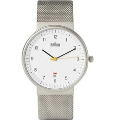 Braun BN0032 Stainless Steel Watch | MR PORTER