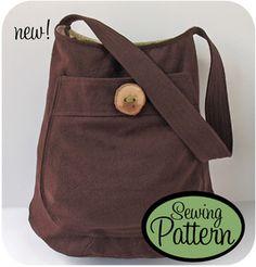 great #bag #sewing #pattern :: sac DIY!