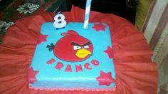 Torta Red Angry Bird