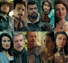 Mian Cast, who is your favourite character? Be sure to cast your vote in #TheMusketeers Fan Awards http://poll.fm/4s19a