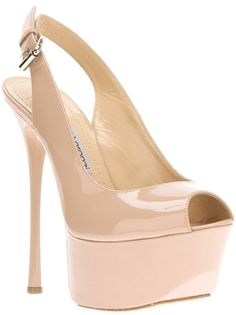 47289e3be56d GIANMARCO LORENZI Sandália Nude. Sapatos Nude