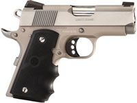 Colt Defender Pistol O7002D, 9mm, 3 in, Rubber Grip, Stainless Finish, White Dot Carry Sights, 7 Rd - Able Ammo