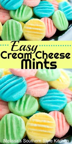 Oh-so-pretty and delicious Easy Cream Cheese Mints recipes desserts deserts Mint Recipes, Candy Recipes, Sweet Recipes, Easy Desert Recipes, Holiday Recipes, Köstliche Desserts, Dessert Recipes, Cream Cheese Mints, Easy Cream Cheese Desserts