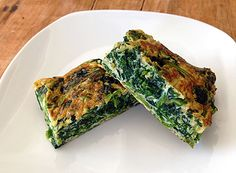 Spinach Tamagoyaki from Just Bento