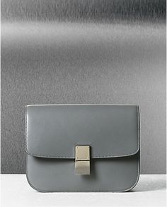 Classic Box Bag in Grey   $3900