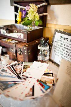 Boulder Wedding from Christina Kiffney Photography + Plum Sage Flowers Postcard Guestbook, Wedding Inspiration, Wedding Ideas, Wedding Details, Wedding Decor, Wedding Stuff, Soundtrack To My Life, Wedding Images, Holidays And Events