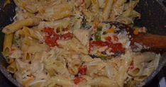 Ελαφρύ γρήγορο φαγητό που μοιάζει με μακαρονοσαλάτα αλλά,δεν είναι,γιατί είναι ένα πολύ ωραίο γεύμα με ωραία χρώματα και μυρωδιές !!! ΔΟ...