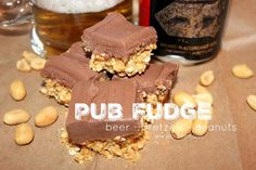 No-Bake Pub Fudge Bars | These easy dessert bars are the perfect blend of salty and sweet.