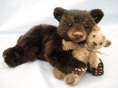 Живые мишки Тедди американки Joanne Livingston - Ярмарка Мастеров - ручная работа, handmade