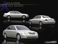 OG | 2003 Kia Opirus | Clay model