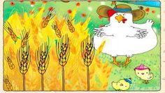 El cuento de la gallinita Roja. Trabajamos el valor del esfuerzo, la…