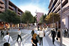 Revitalising Central Dandenong masterplan by Places Victoria seeks to create an alternative urban centre in Melbourne's south east.