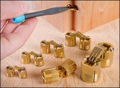 SOSS® Concealed Barrel Hinges for case Small Woodworking Projects, Woodworking Tools, Furniture Projects, Wood Projects, Barrel Hinges, Wood Tools, Furniture Hardware, Wooden Boxes, Metal