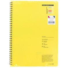 Theme Color Series SP Notebook Chamomile ($4) ❤ liked on Polyvore featuring home, home decor, stationery, fillers, books, extras, yellow and yellow fillers