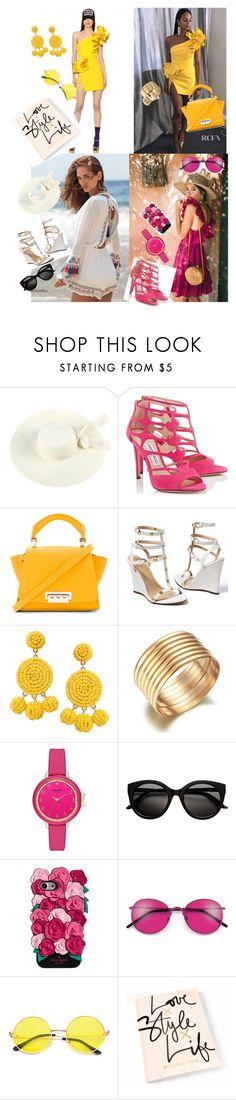 """Fashion"" by merima022 on Polyvore featuring Jimmy Choo, ZAC Zac Posen, Venus, Humble Chic and Kate Spade"
