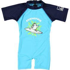 Zon- / Zwempakje Surf Penguin http://www.zonnepakje.nl/shop/baby-0-2-jaar/zon-zwempakje-surf-penguin/