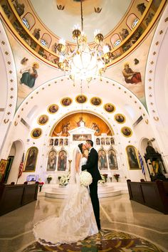 Traditional, Greek Orthodox Wedding Ceremony | Tampa Bay Wedding Ceremony Venue St Nicholas Greek Orthodox Cathedral Tarpon Springs | St. Petersburg Wedding Photographer Limelight Photography