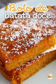 Portuguese Desserts, Portuguese Recipes, Sweet Recipes, Cake Recipes, Dessert Recipes, Biscotti Recipe, Happy Foods, Vegan Cake, How Sweet Eats