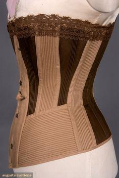 1875-1900 Corset Augusta Auctions