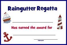 Pony Express District Cub Scouts: Raingutter Regatta award