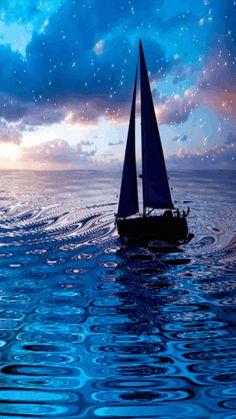 30 Amazing Animated Yacht Sailing Gifs - Best Animations