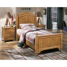 Kids Bedroom: Stages Twin Bed by Ashley Furniture at Kensington Furniture